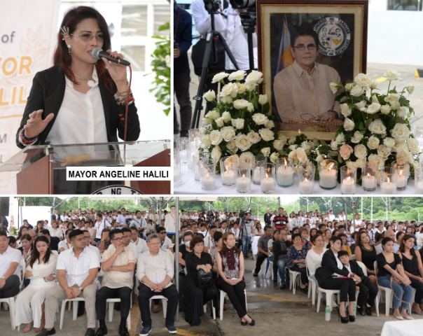 1 st death anniversary ni Mayor Thony Halili, ginunita