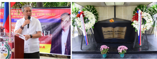 60 th death anniversary ni Pres. Jose P. Laurel, ginunita