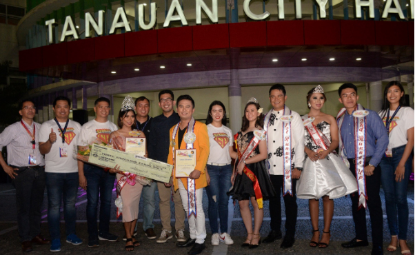 Kauna-unahang Mr. & Ms. Tanauan City Hall, kinilala