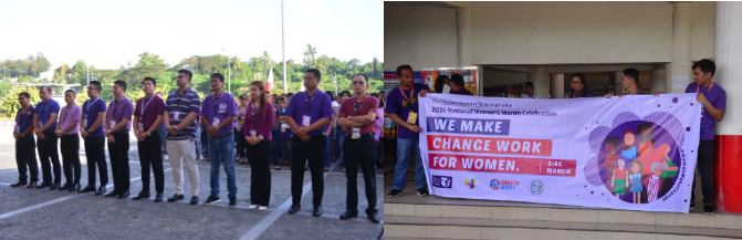 2020 National Women's Month Celebration kick-off, isinagawa ng Tanauan City