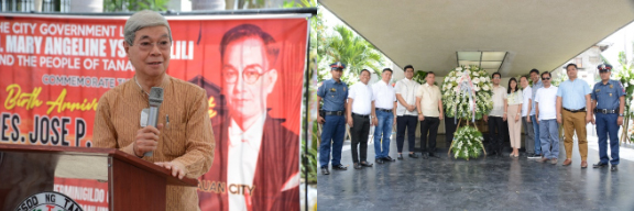 129 th BIRTH ANNIVERSARY OF PRES. JOSE P. LAUREL