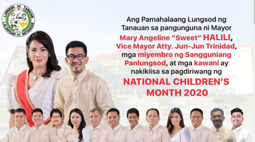 National Chidren's Month 2020