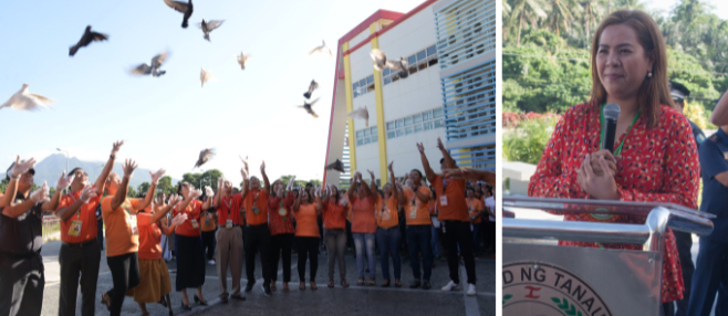 """18-day campaign to end VAW"", muling inilunsad sa Tanauan"